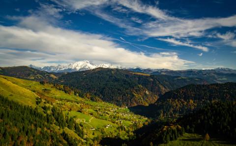 photo aerienne drone Haute Savoie