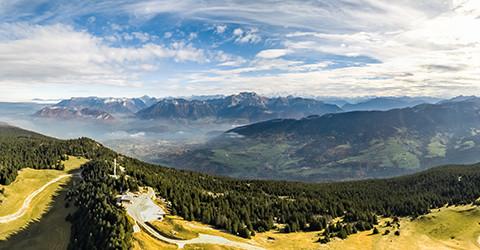 panorama 360 Semnoz photo aerienne drone Annecy Haute Savoie